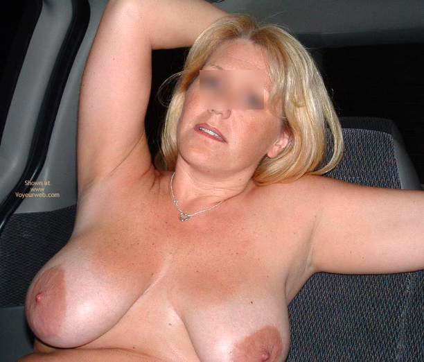 Pic #3 - Backseat With Mrs. Boobman