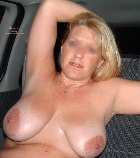 Pic #4 - Backseat With Mrs. Boobman