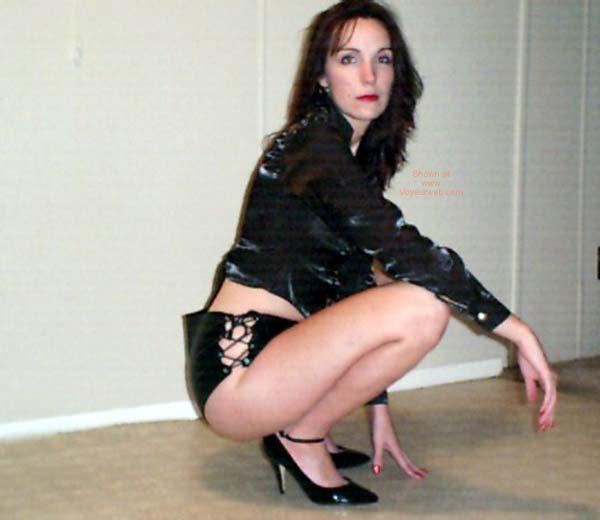 Pic #1 - Celeste in Leather 1