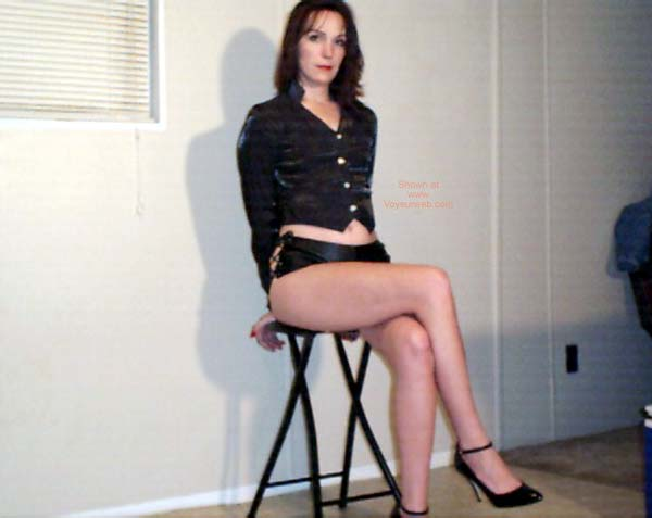 Pic #4 - Celeste in Leather 1