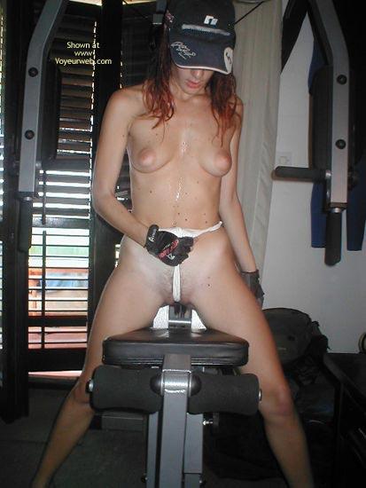 Pic #5 - Esper In Gym