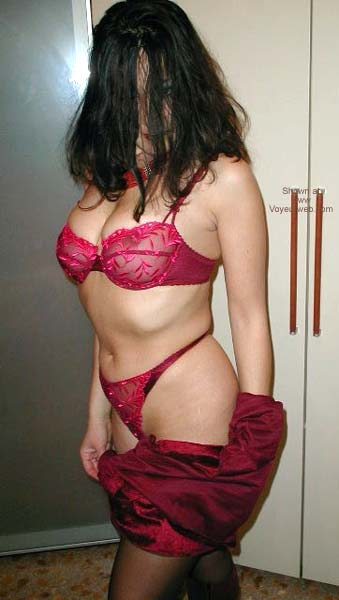 Pic #3 - *SN Kinky Laura - Body On Red Boots