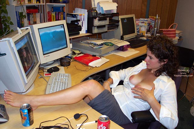 Pic #8 - Office Fun