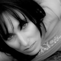 Face Closeup With Exposed Nipple - Black Hair, Dark Hair, Looking At The Camera