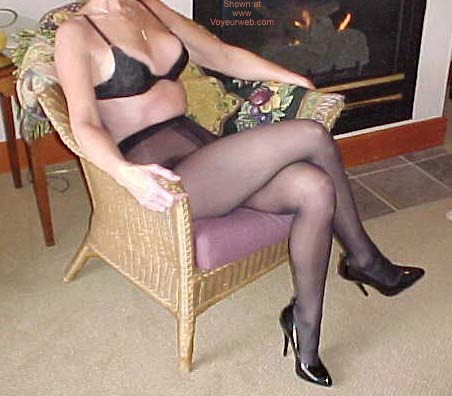 Pic #1 - *SN My Wife Connie in Nylons 2
