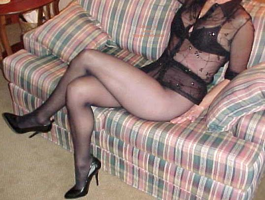 Pic #4 - *SN My Wife Connie in Nylons 2