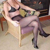 *SN My Wife Connie in Nylons 2