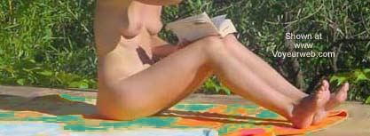 Pic #1 - Reading Naked in The Sun