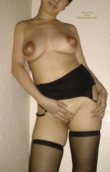 Pic #8 - *SN Asian Dyna in Nylons 1/2