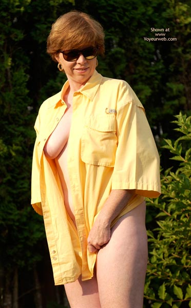 Pic #3 - Liz In Just A Shirt