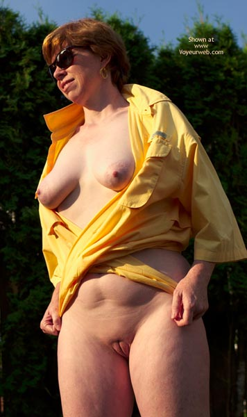Pic #7 - Liz In Just A Shirt