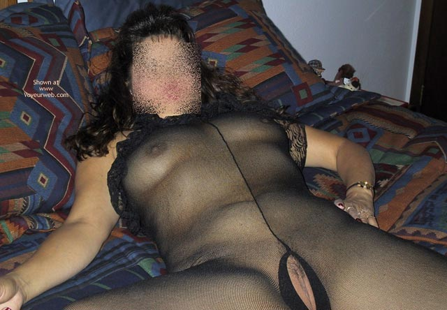 Pic #4 - Wife In Bodystocking