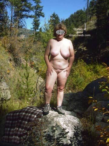Pic #1 - Mature Wife Outside Again