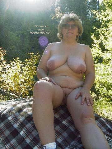 Pic #2 - Mature Wife Outside Again