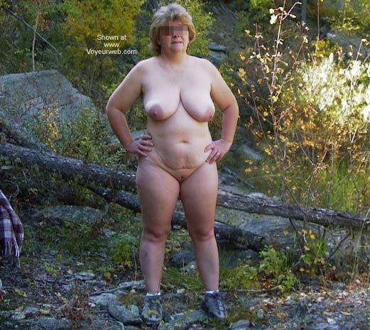 Pic #4 - Mature Wife Outside Again