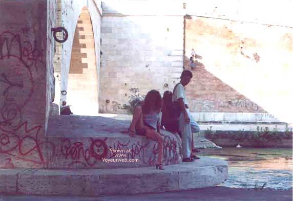 Pic #3 - Angela sull'Isola Tiberina