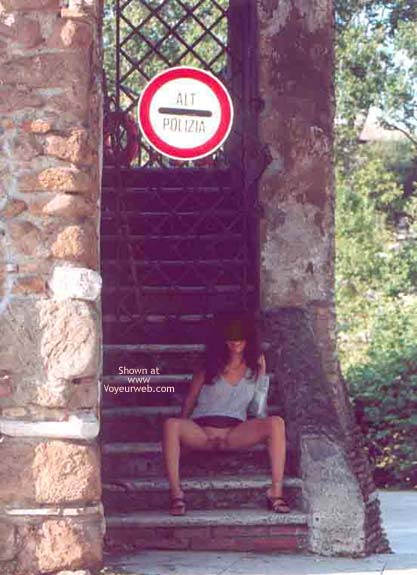Pic #5 - Angela sull'Isola Tiberina