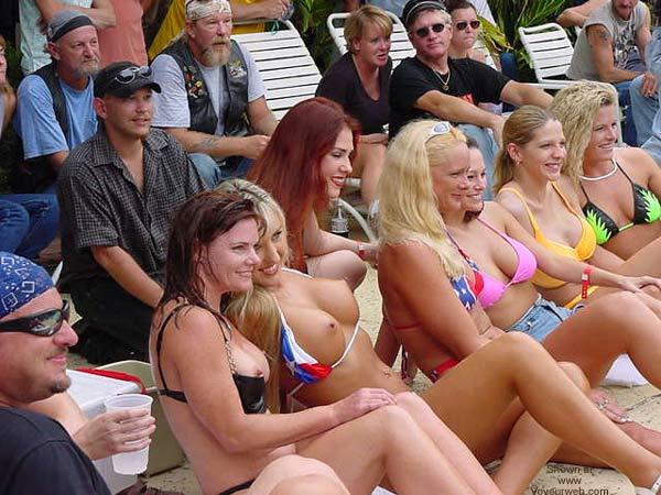 Pic #1 - Biker Rally Bikini Contest