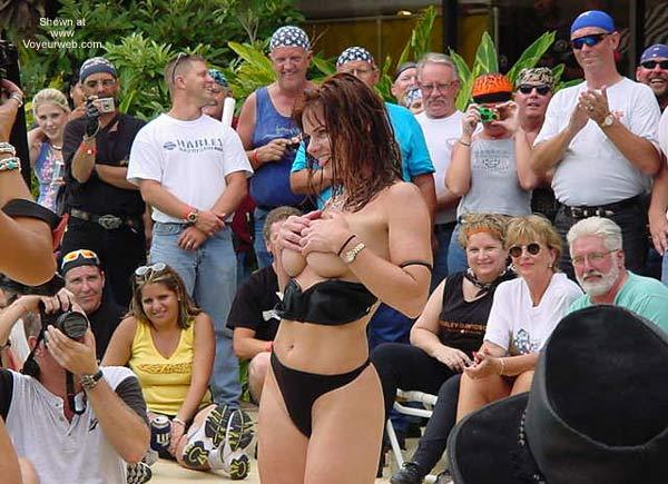 Pic #2 - Biker Rally Bikini Contest