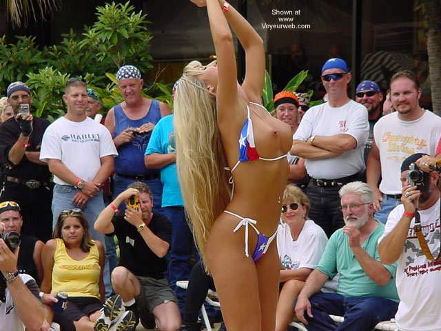 Pic #3 - Biker Rally Bikini Contest
