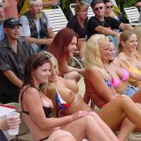 Biker Rally Bikini Contest