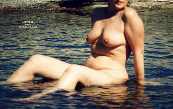 Pic #3 - Mrs.Cleaver Bathing At The Lake
