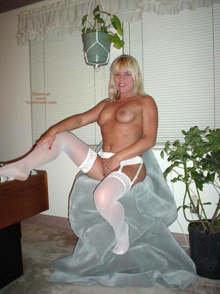 Pic #4 - Garter And White Stockings