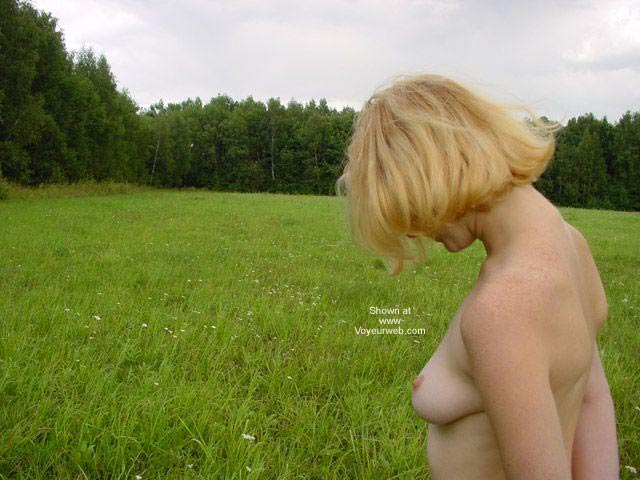 Pic #2 - Beauty White Girl in Forest
