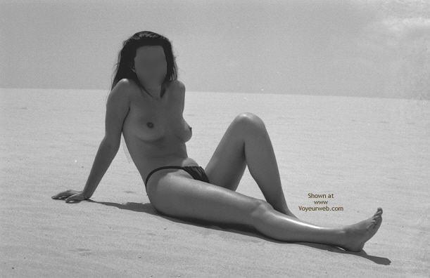 Pic #4 - Sara At Beach