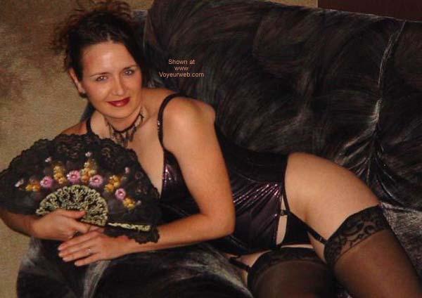Pic #3 - *SC Charlene Purple Corset