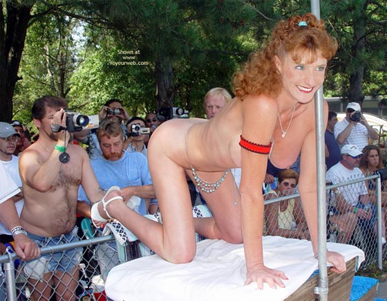 Pic #2 - Sandy Voyeurweb'S Redhead At Nap