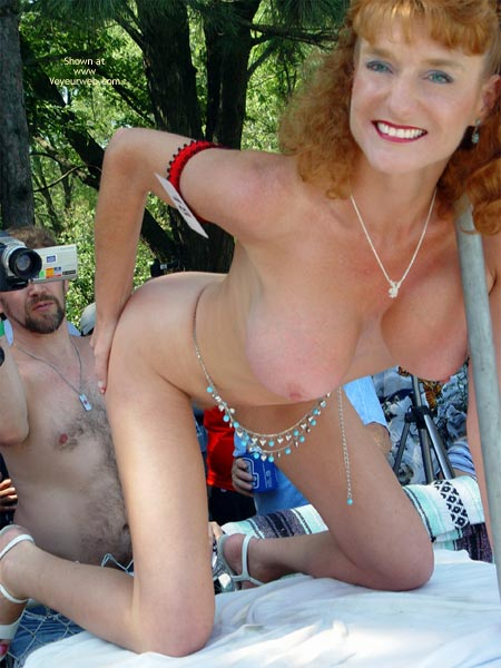 Pic #3 - Sandy Voyeurweb'S Redhead At Nap