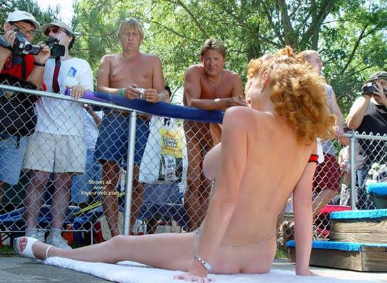 Pic #4 - Sandy Voyeurweb'S Redhead At Nap