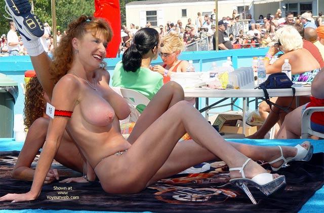 Pic #6 - Sandy Voyeurweb'S Redhead At Nap