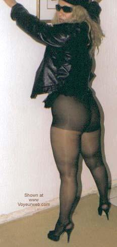 Pic #8 - My Latin Wife in Stocking II