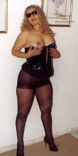 Pic #9 - My Latin Wife in Stocking II