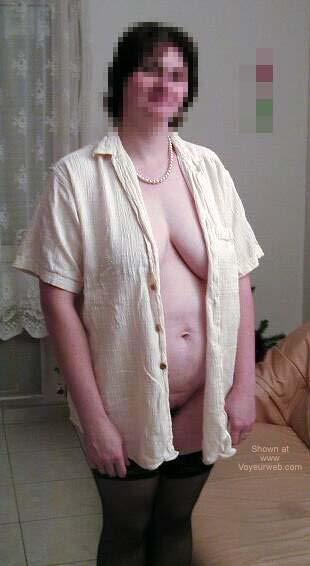 Pic #3 - My French Wife 1st Time Nude 1
