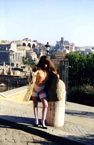 Pic #3 - Angela tra Foro Romano e Campidoglio