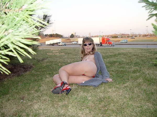 Pic #2 - Natasha's Red Sandals