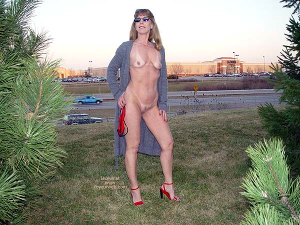 Pic #3 - Natasha's Red Sandals