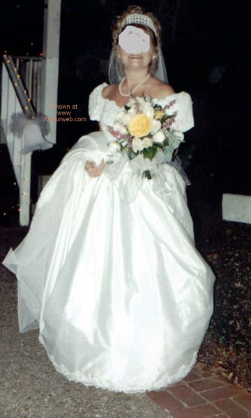 Pic #1 - Debra's Wedding Night