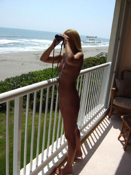 Pic #3 - Marie On The Balcony