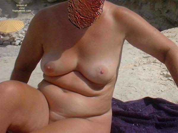 Pic #1 - A Trip To The Nudist Beach