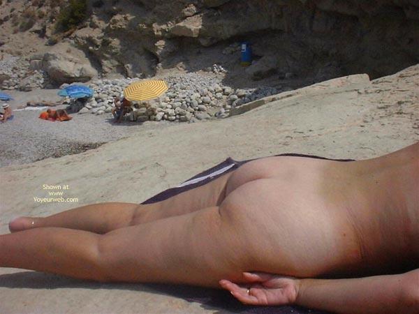 Pic #2 - A Trip To The Nudist Beach