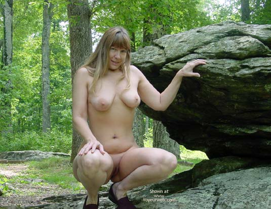 Pic #2 - Purple Patty In The Woods And On The Rocks 3