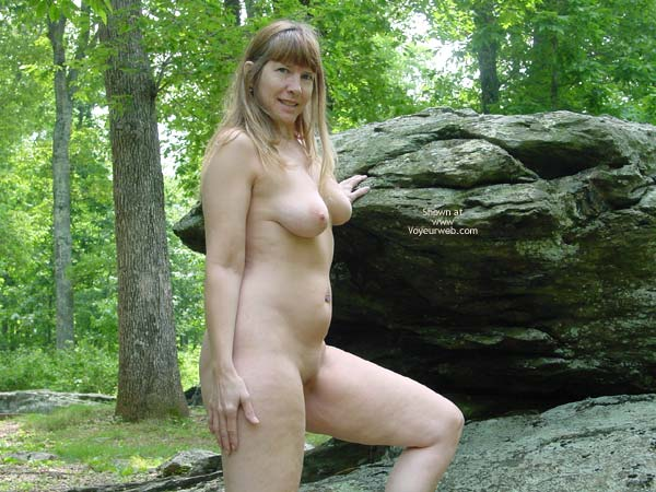 Pic #3 - Purple Patty In The Woods And On The Rocks 3