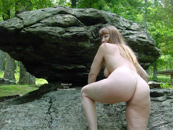 Pic #4 - Purple Patty In The Woods And On The Rocks 3