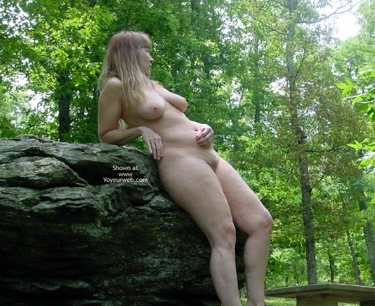 Pic #5 - Purple Patty In The Woods And On The Rocks 3
