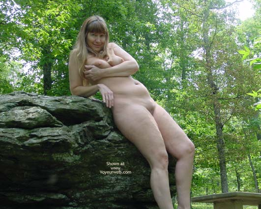 Pic #6 - Purple Patty In The Woods And On The Rocks 3