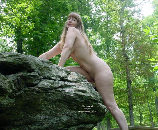 Pic #7 - Purple Patty In The Woods And On The Rocks 3